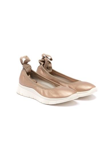 Frau 0As9W2019949 Kadın Yazlık Ayakkabı Altın